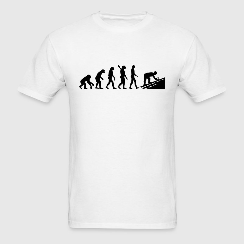 Evolution Roofer T-Shirts - Men's T-Shirt