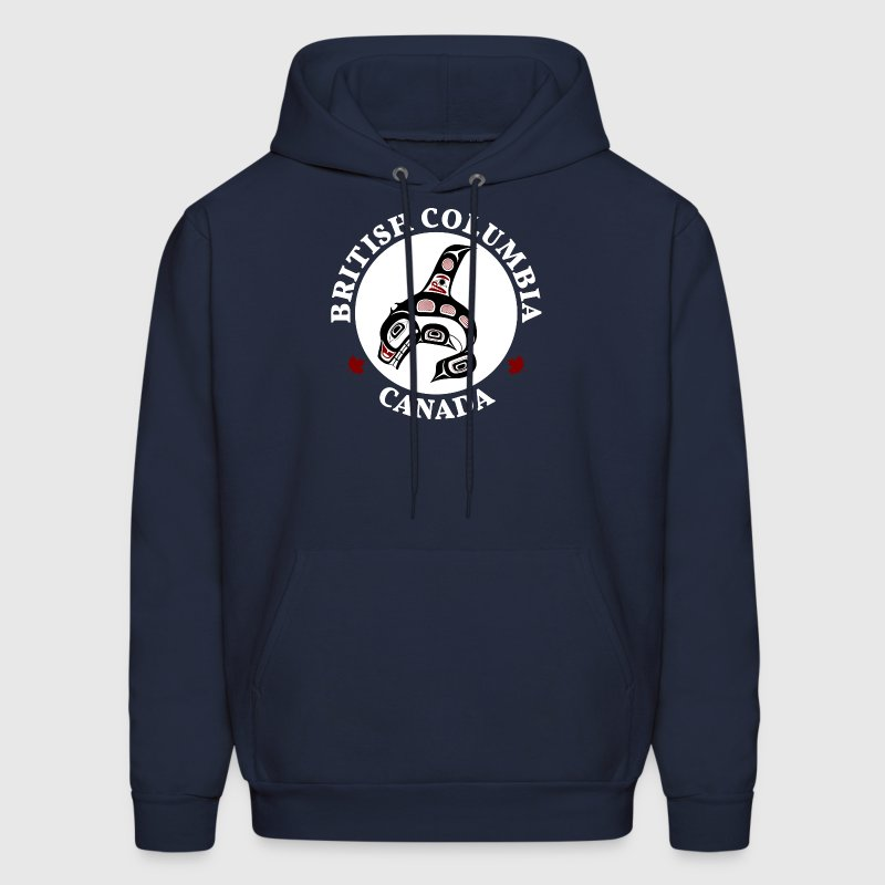 Northwest Pacific coast Haida art Killer whale Hoodies - Men's Hoodie