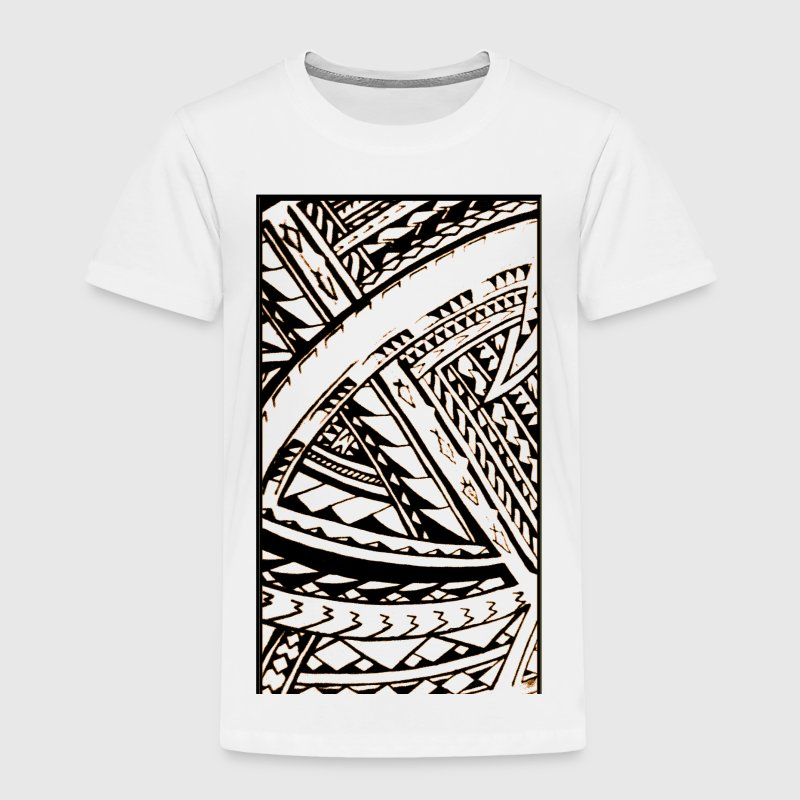 Fili Samoan Tribal art by Sku Baby & Toddler Shirts - Toddler Premium T-Shirt