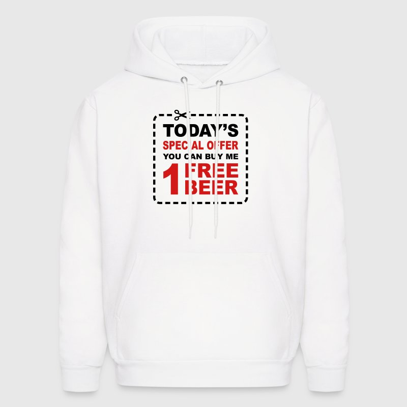 Free Beer - Special Offer Coupon Hoodies - Men's Hoodie