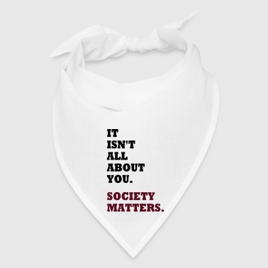 Society Matters. Bags & backpacks - Bandana