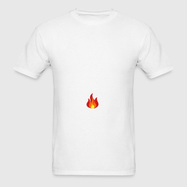 Fire, Flames Bottles & Mugs - Men's T-Shirt