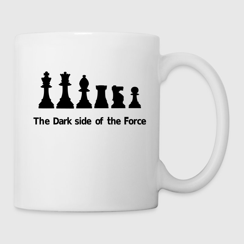 The dark side of the Force, chess, pawns Bottles & Mugs - Coffee/Tea Mug