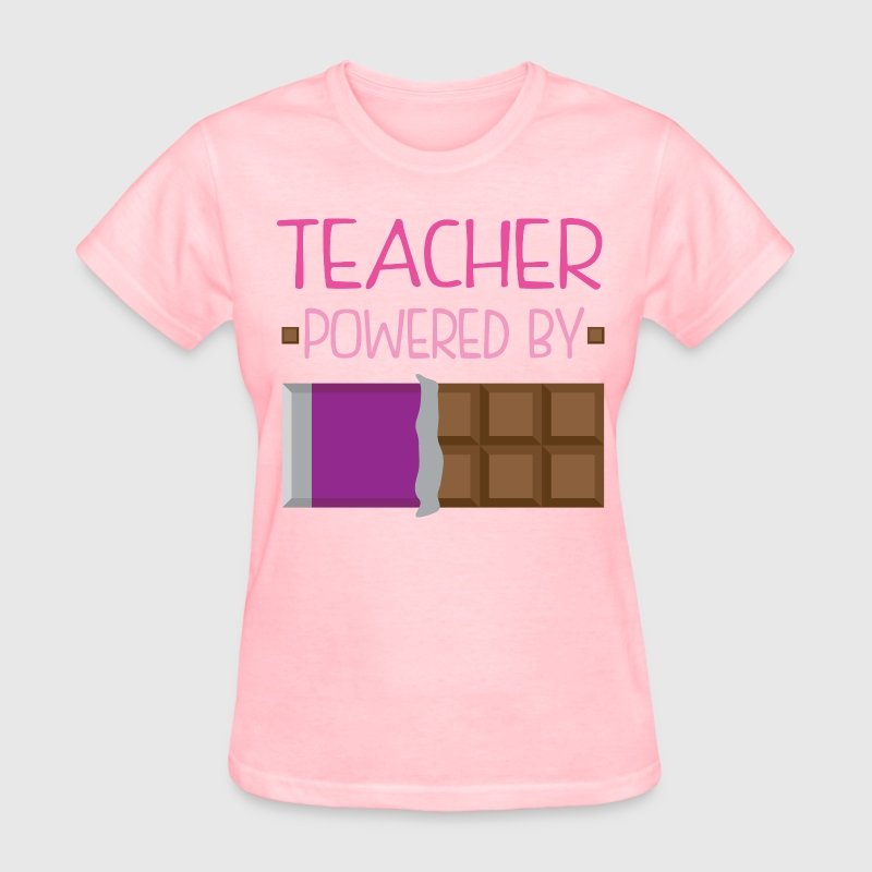 Teacher funny chocolate Women's T-Shirts - Women's T-Shirt