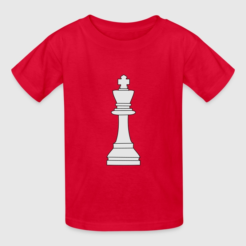 King, chess pieces King Kids' Shirts - Kids' T-Shirt