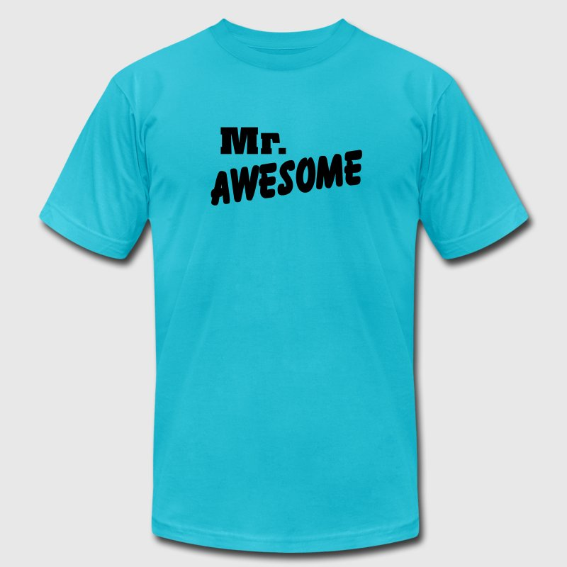Mr. Awesome T-Shirts - Men's Fine Jersey T-Shirt