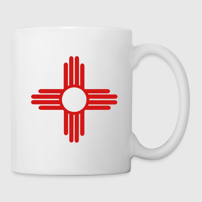 Native American Sun Symbol Bottles & Mugs - Coffee/Tea Mug