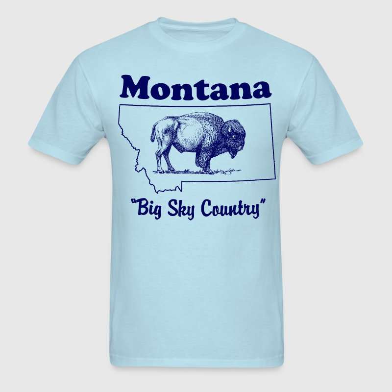 Montana Big Sky Country Men's t-shirt - Men's T-Shirt