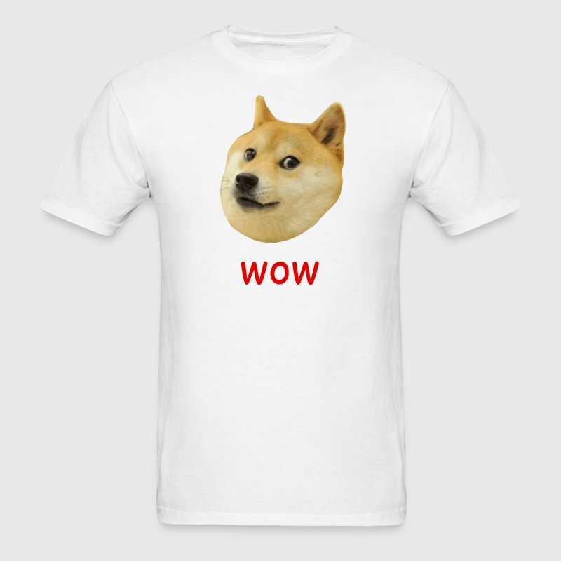 Doge Very Wow Much Dog T-Shirts - Men's T-Shirt