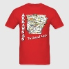 Men's arkansas the natural state retro t shirt - Men's T-Shirt
