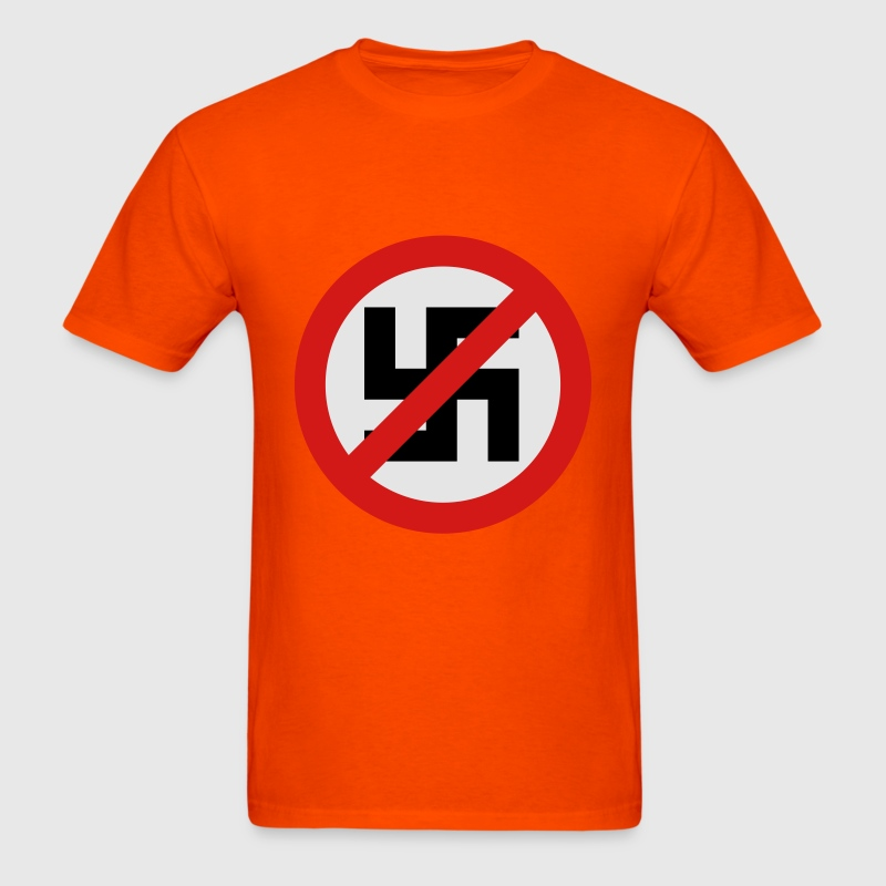 Anti Nazi Symbol - Men's T-Shirt