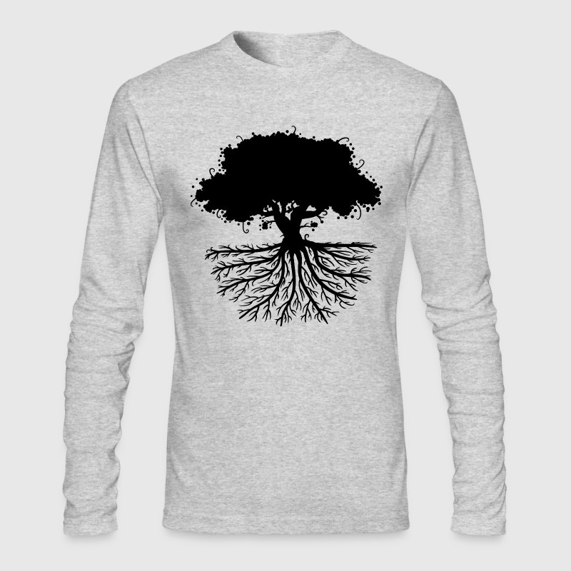 Tree Roots Long Sleeve Shirts - Men's Long Sleeve T-Shirt by Next Level