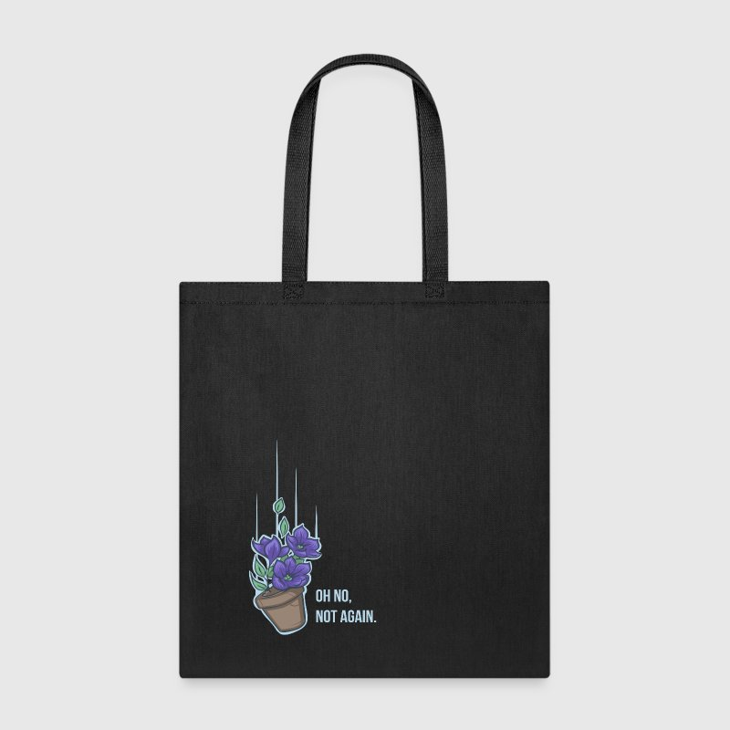 Thoughts of a falling bowl of petunias Bags & backpacks - Tote Bag