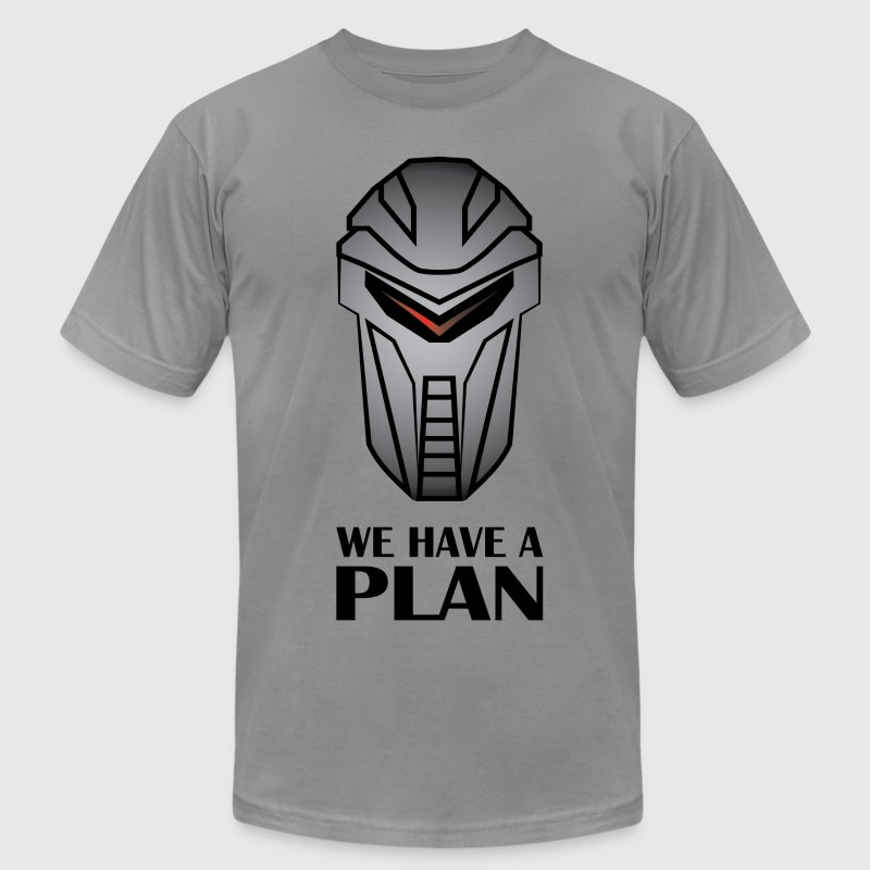 We Have A Plan Cylon T-Shirts - Men's Fine Jersey T-Shirt