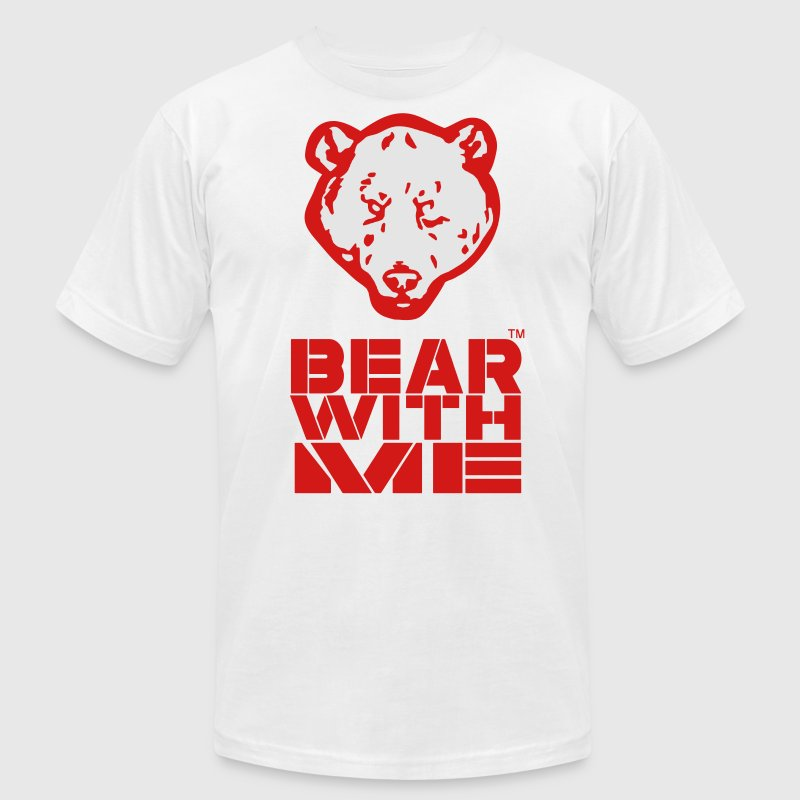 BEAR WITH ME T-Shirts - Men's T-Shirt by American Apparel