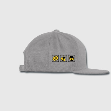 Bee Bottles & Mugs - Snap-back Baseball Cap