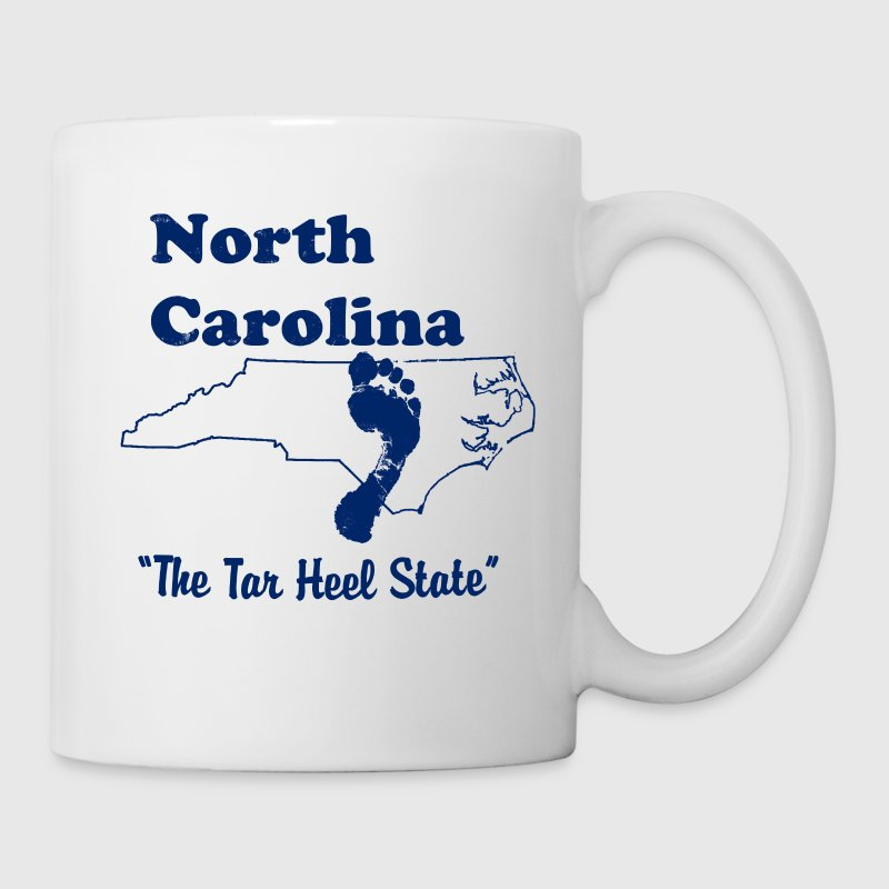 north carolina tar heel state mug - Coffee/Tea Mug