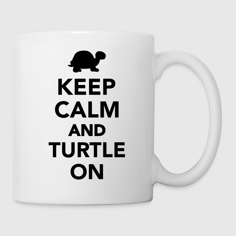 Keep calm and turtle on Bottles & Mugs - Coffee/Tea Mug