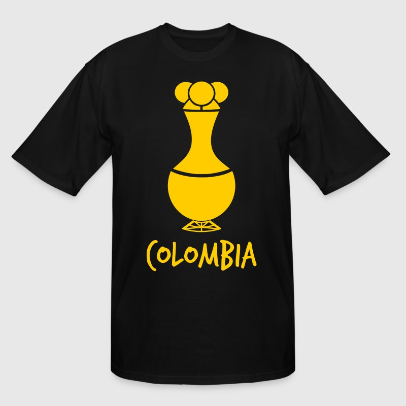 Poporo Colombia T-Shirts - Men's Tall T-Shirt