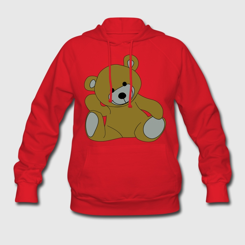 Teddy, Teddy Bear, stuffed animal Hoodies - Women's Hoodie