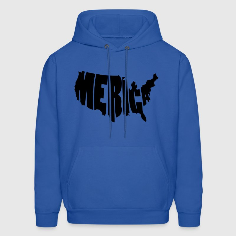 Merica United States USA Hoodies - Men's Hoodie
