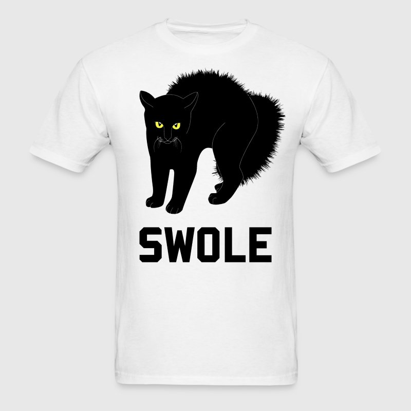 Swole Cat is Kitten Swole T-Shirts - Men's T-Shirt