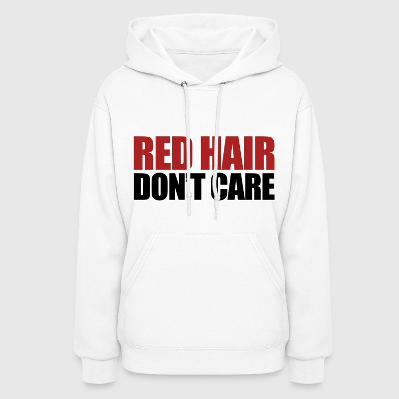 Red hair don't care - Women's Hoodie