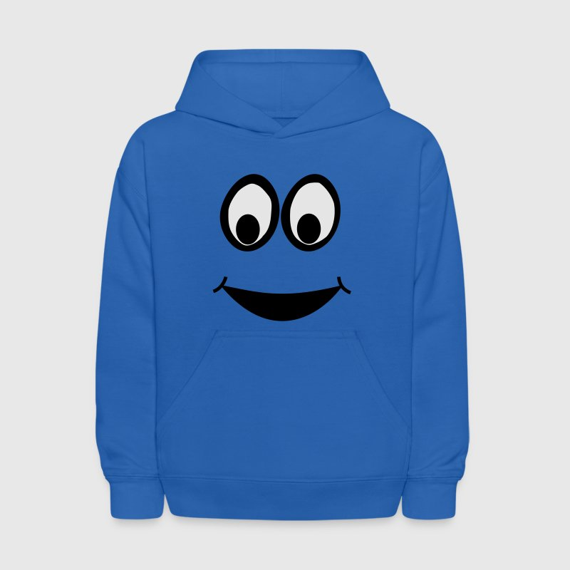 Funny Eyes, Funny Face, Comic Face, Smiley Sweatshirts - Kids' Hoodie