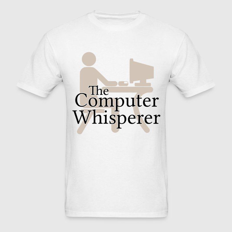The Computer Whisperer T-Shirts - Men's T-Shirt