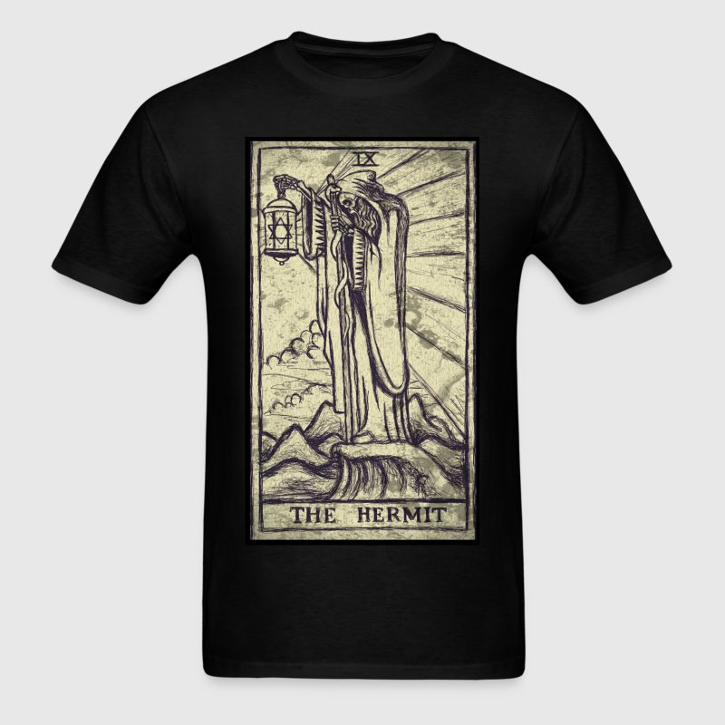 The Hermit Tarot T-Shirts - Men's T-Shirt