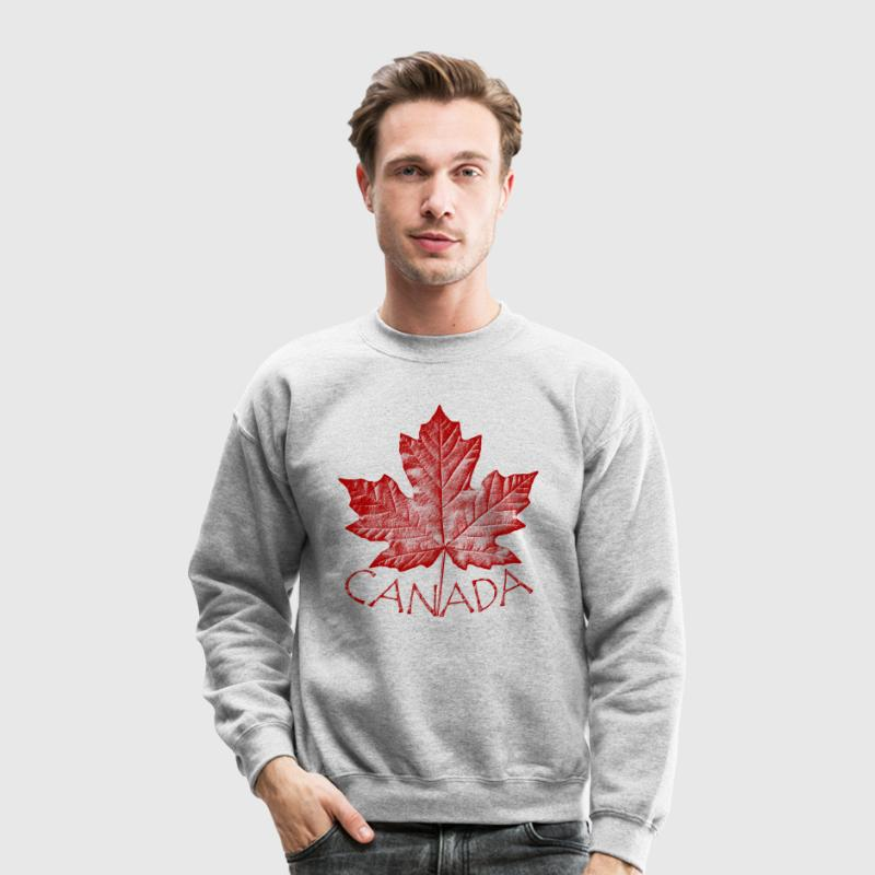 Canada Souvenir Sweatshirt Retro Canada Flag Sweat - Crewneck Sweatshirt