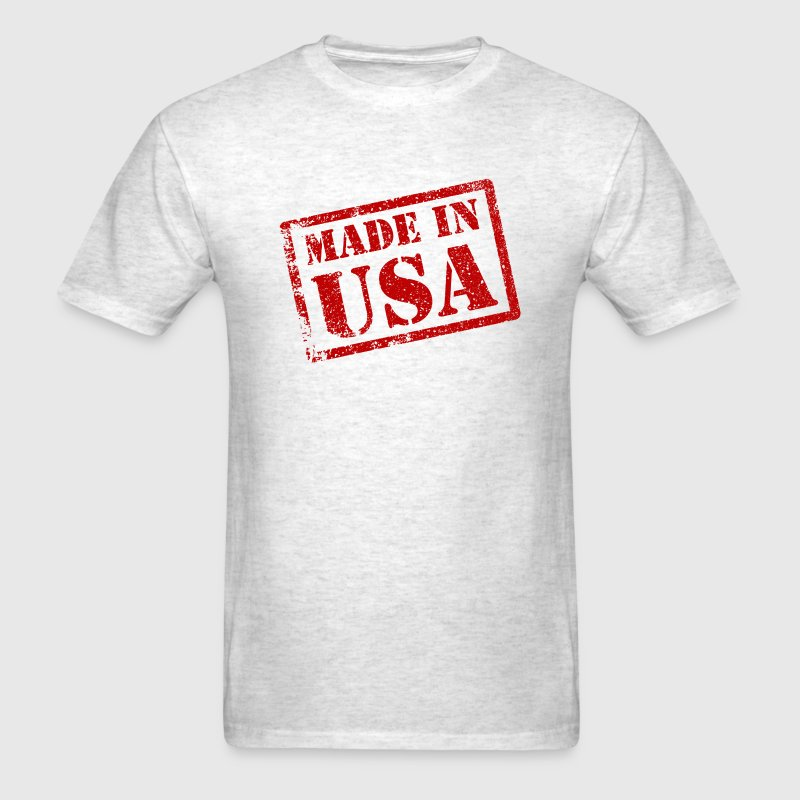 Made in usa made in america t shirt spreadshirt for T shirt design usa