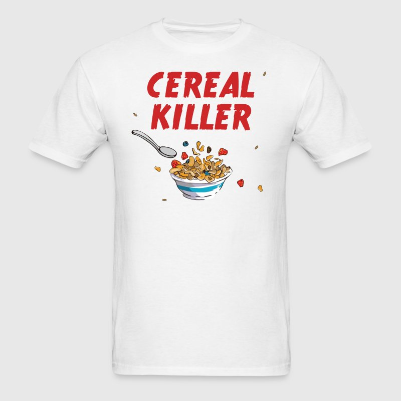 Breakfast Cereal Killer T-Shirts - Men's T-Shirt