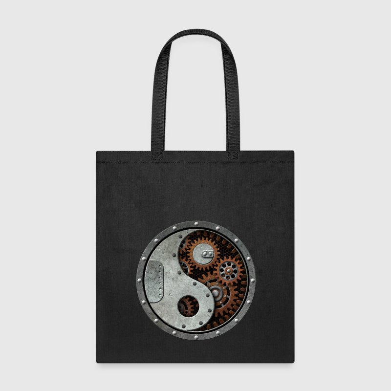 Industrial Steampunk Yin Yang Bags & backpacks - Tote Bag