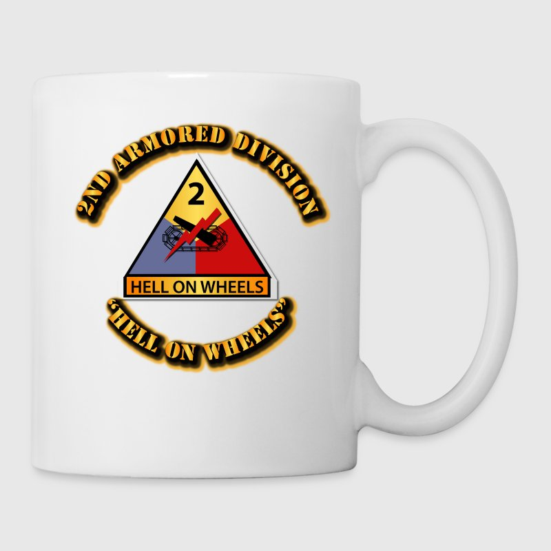 Army - 2nd Armored Division - Hell on Wheels - Coffee/Tea Mug