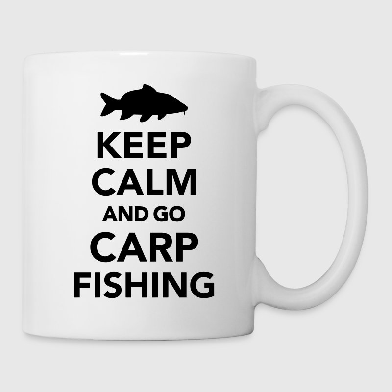Keep calm and Carp Fishing Bottles & Mugs - Coffee/Tea Mug