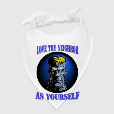 Love Thy Neighbor Bottles & Mugs - Bandana