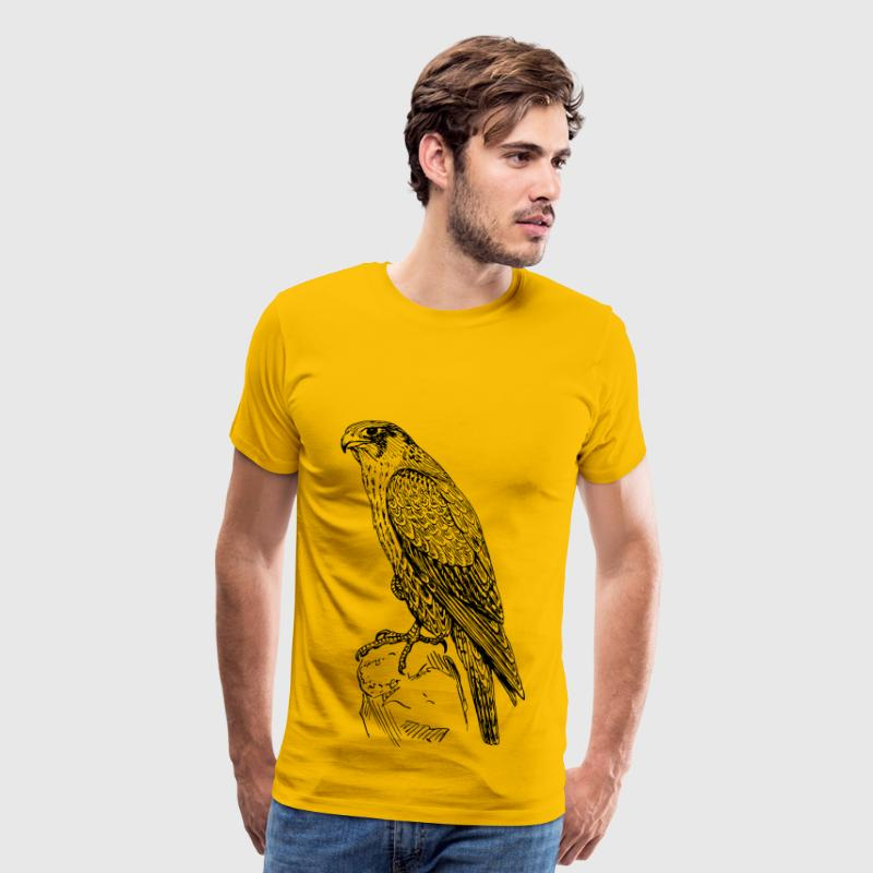 peregrine falcon - Men's Premium T-Shirt