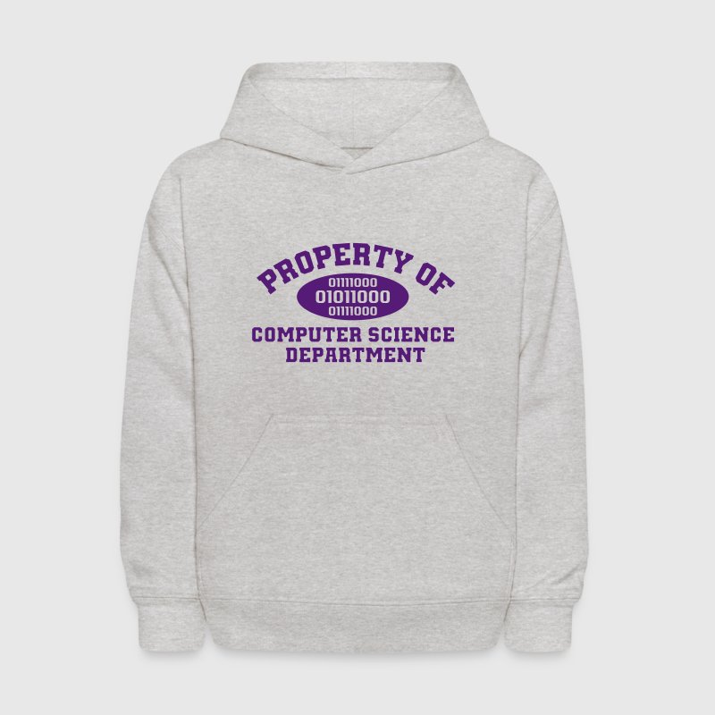 Property Of Computer Science Sweatshirts - Kids' Hoodie