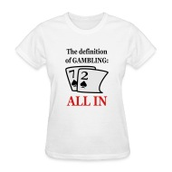 Womens gambling shirts opap gambling