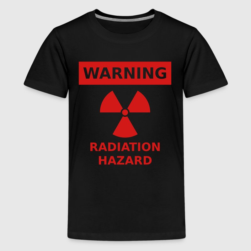 Radiation Hazard (glow-in-dark) - Kids' Premium T-Shirt