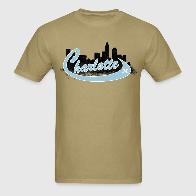 charlotte skyline T-Shirts - Men's T-Shirt