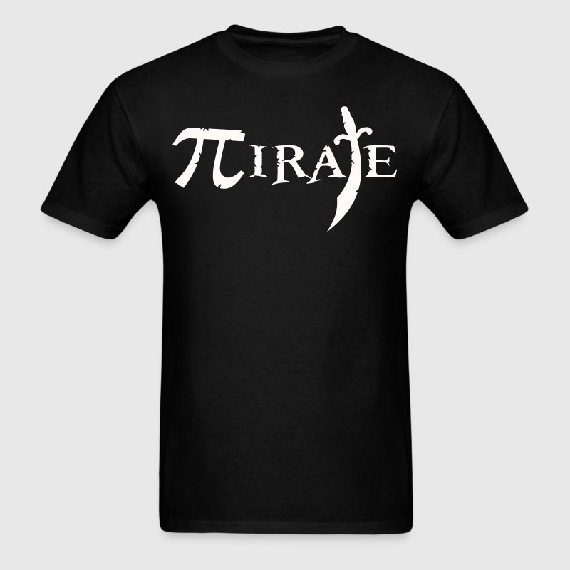 Pi Symbol Pirate T-Shirts - Men's T-Shirt