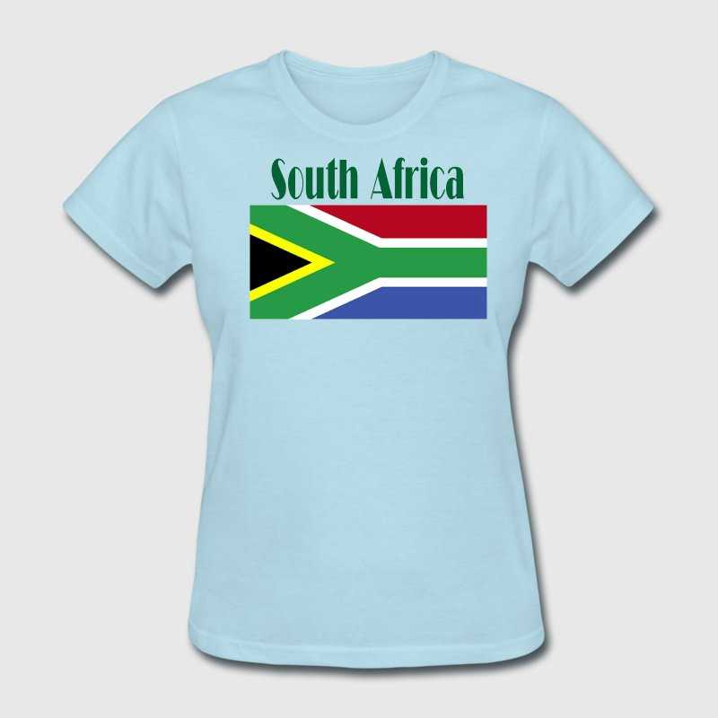 South African Flag Women's T-Shirts - Women's T-Shirt