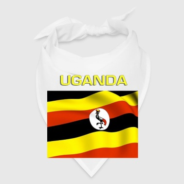 Ugandan Flag Bottles & Mugs - Bandana