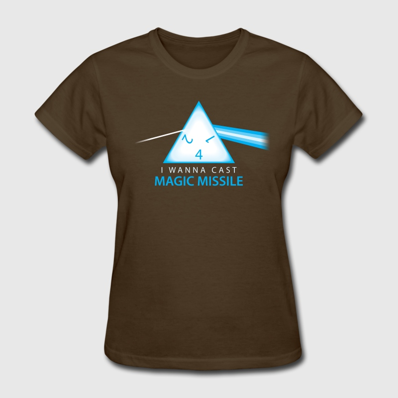 I Cast Magic Missile T-shirt by synaptyx | Society6