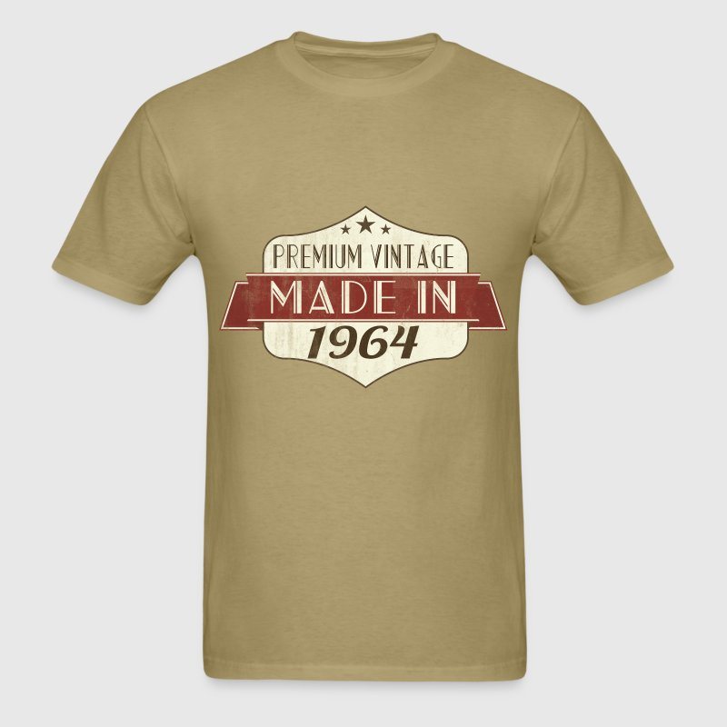 Vintage 1964 50th Birthday T-Shirts - Men's T-Shirt