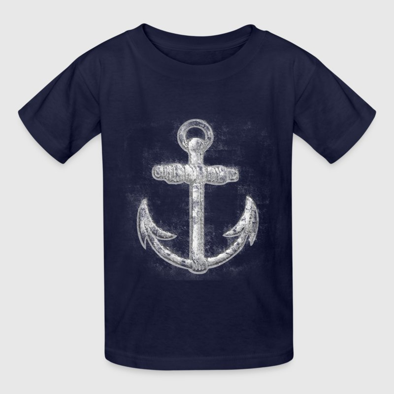 Vintage Nautical Anchor Kids' Shirts - Kids' T-Shirt