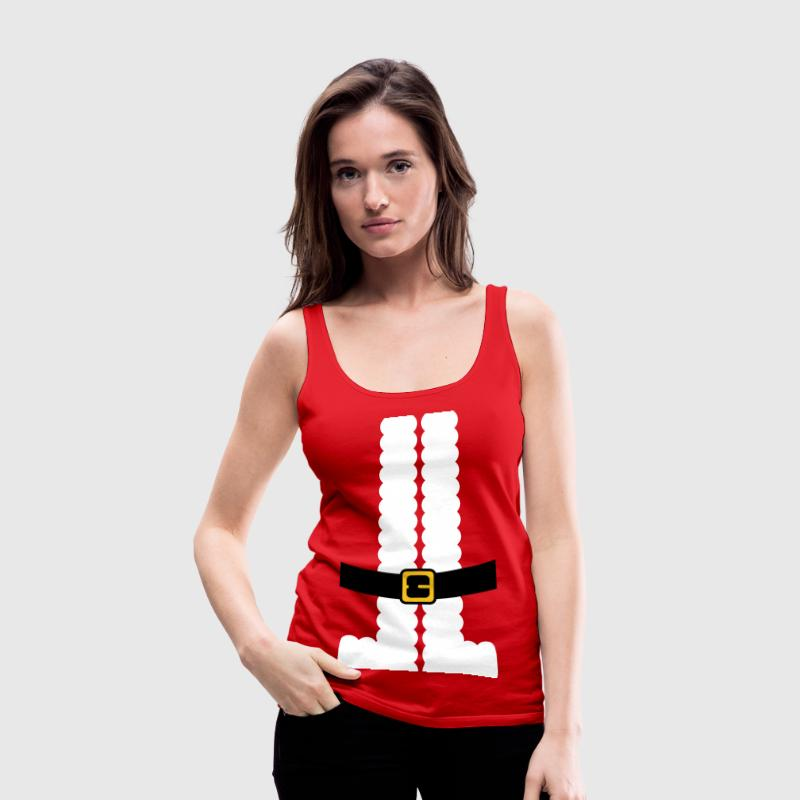 Santa Claus Suit Shirt Tanks - Women's Premium Tank Top