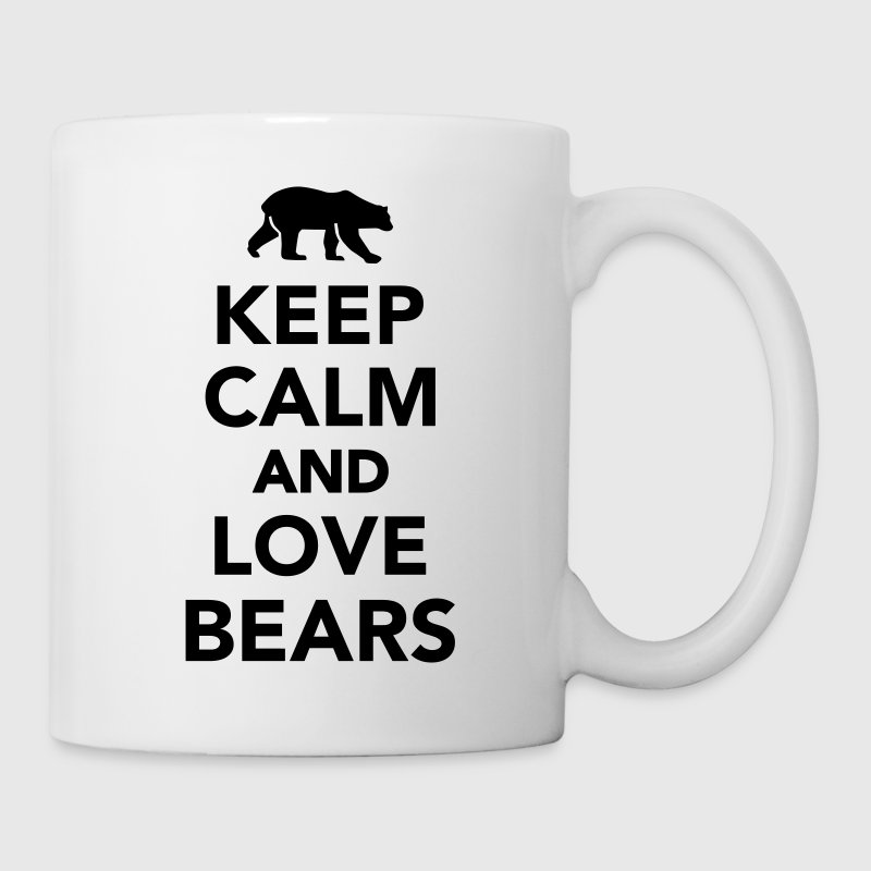 Keep calm and love Bears Bottles & Mugs - Coffee/Tea Mug